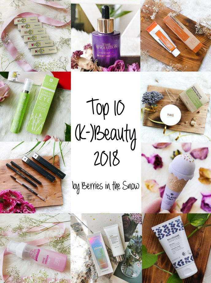 Top 10 (K-)Beauty Products 2018