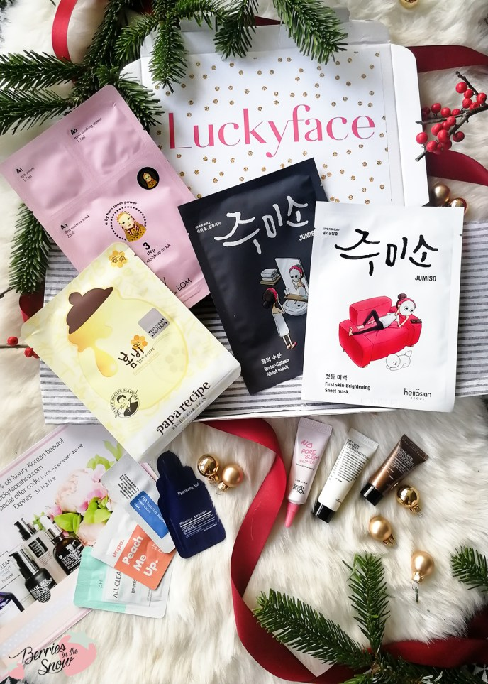 Luckyface Korean Beauty Starter Kit