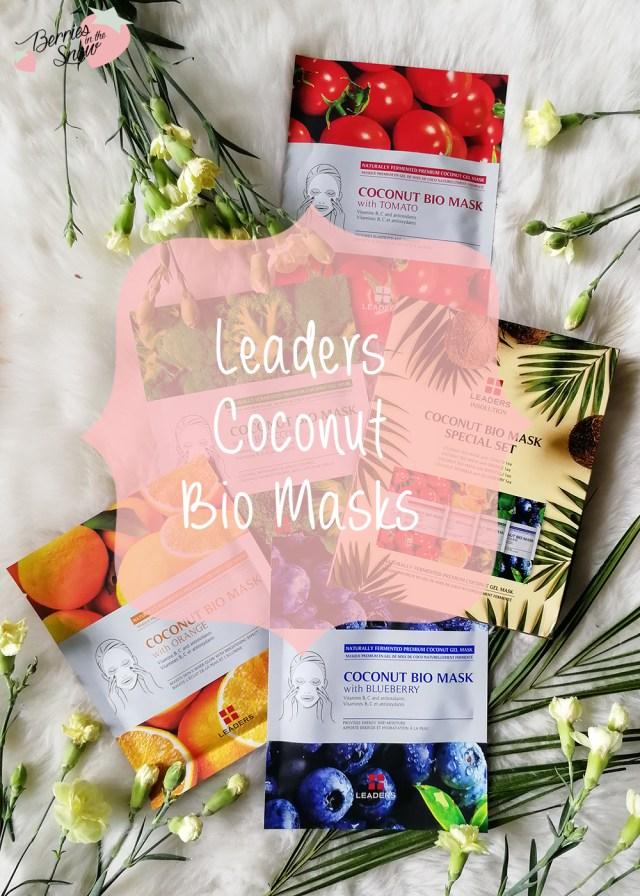 Leaders Coconut Bio Masks