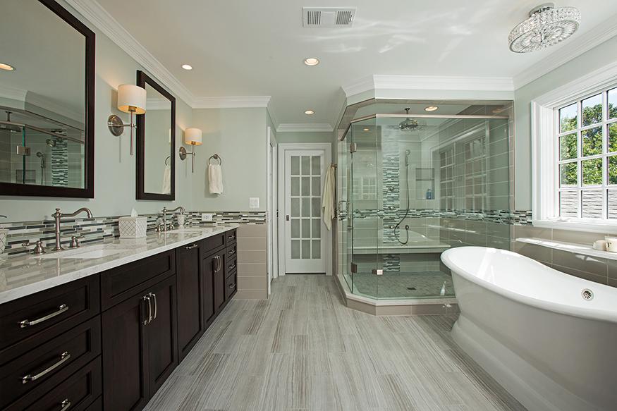 Spa Like Master Bathroom In Oakton, VA By Berriz Design