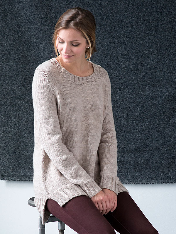Chittenden Sweater Berroco Cotolana Amy Christoffers