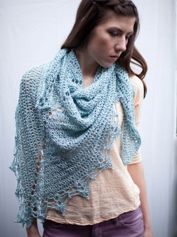 Halstead, knit in Lago