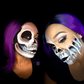 South Florida Halloween Makeup Artist