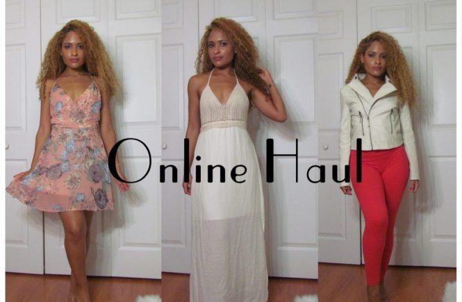Online Shopping Haul