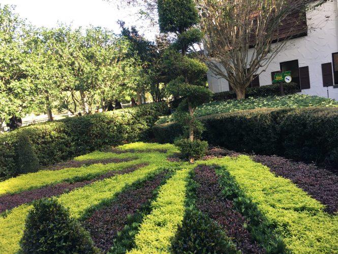 Topiary Sundial