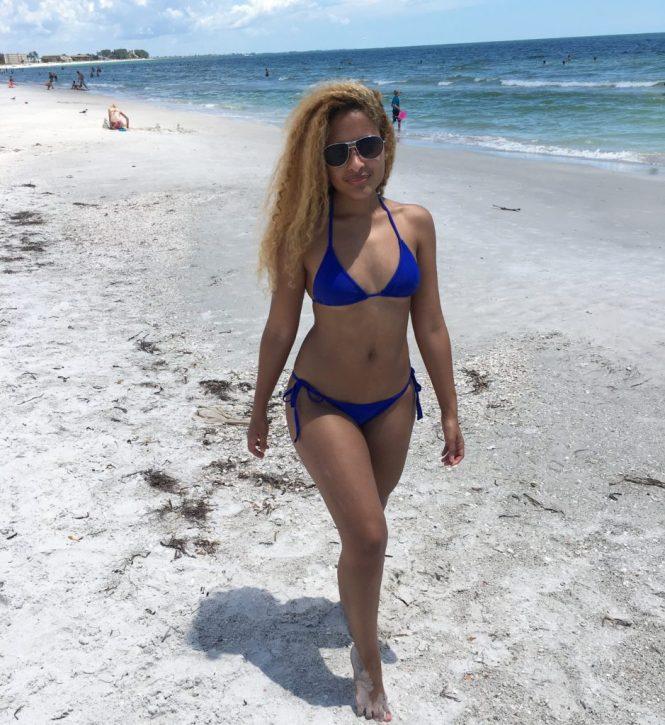 Walking Treasure Island Beach