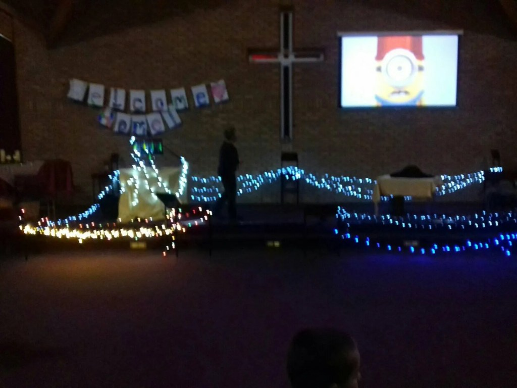 Light Party at Amesbury Baptist Church