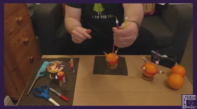 Art Time, Make a Christingle