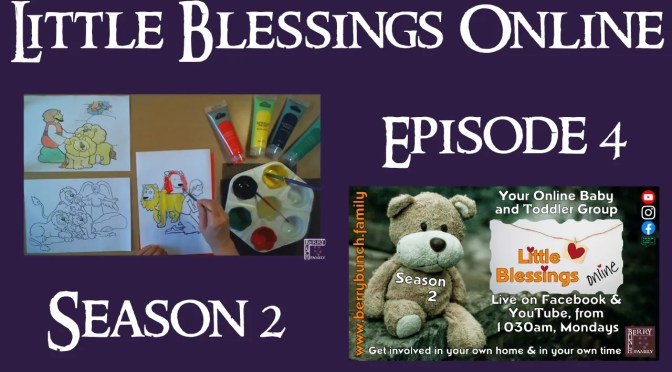 Little Blessings Online, Series 2, Episode 4, Being Brave is Great