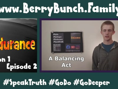 Endurance, Series 1, Episode 2, A Balancing Act