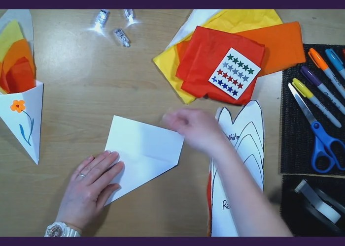 Art Time with Jo Jo: Paper Torch