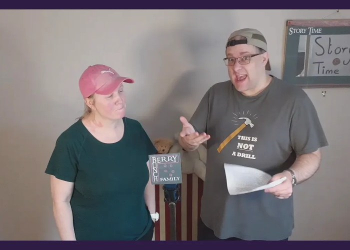 Story Time, with Andy B and Jo Jo, and The Bright Light