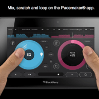Pacemaker Application for BlackBerry Playbook in BlackBerry Apps World