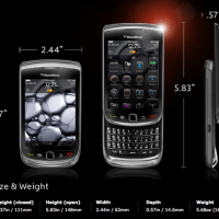 BlackBerry Torch 9850 Features and Specifications
