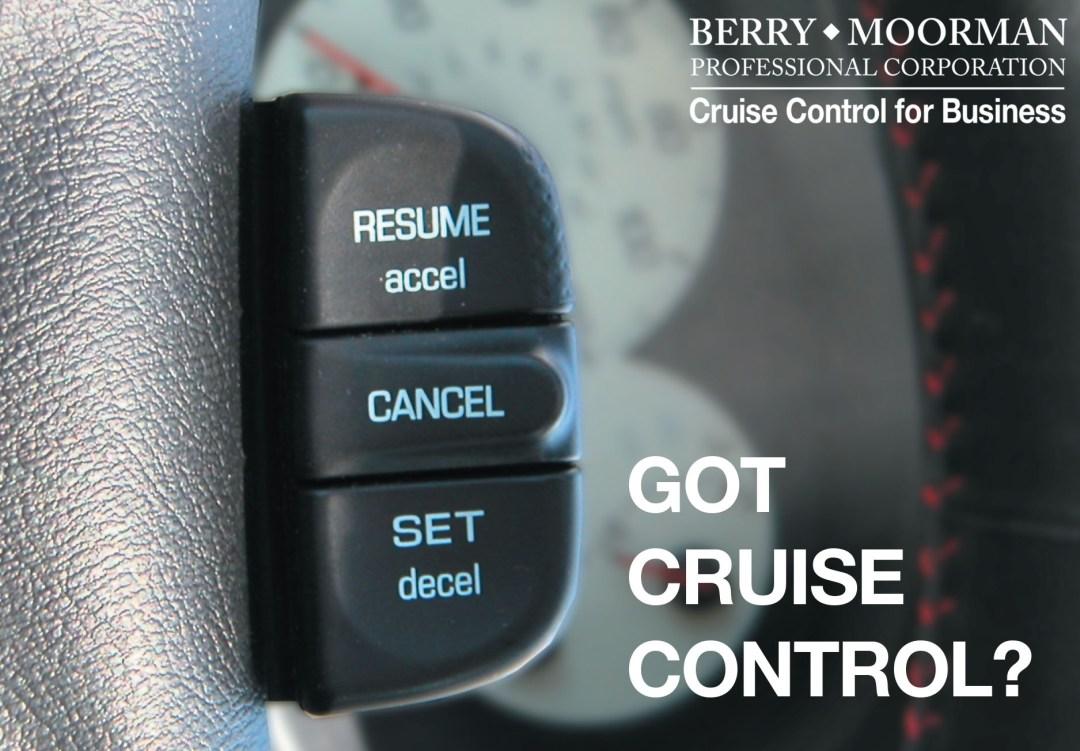 CRUISE CONTROL AD