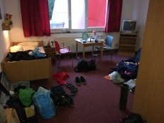 Our spacious room of chaos
