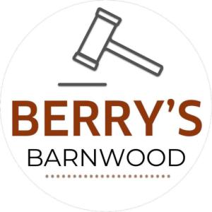 Berry's Barn wood logo