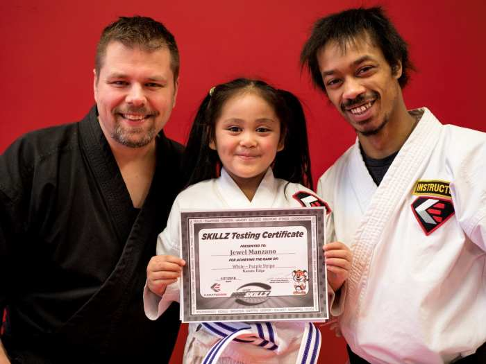 2018-01-27 Karate Edge Basic Skillz Test 11-14-14