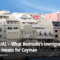 What #Bermuda 's immigration debate means for #Cayman @cayCompass