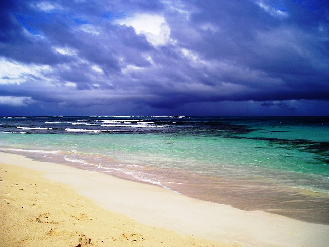 Storm Approaching Puerto Rico Beach