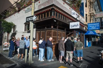 Dottie's. The place to be for breakfast in San Francisco. My hunger was larger than my patience. So ended up next door instead.