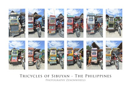 Poster tricycles text