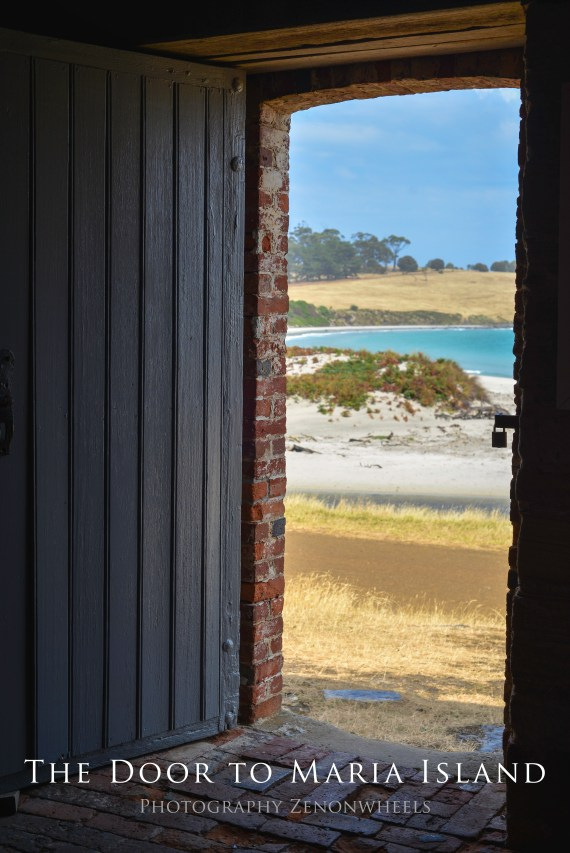 The Door to Maria Island