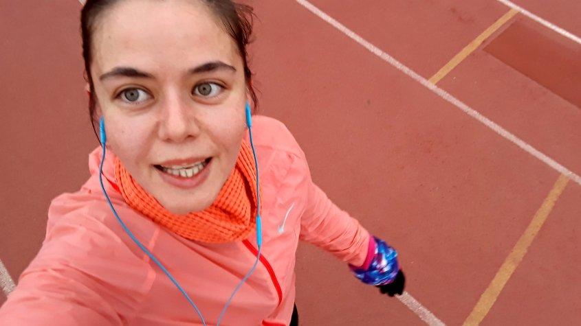 Running, love