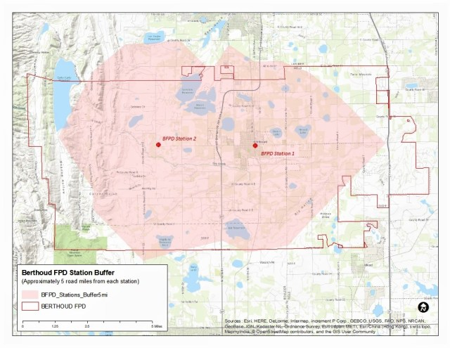 ISO RATING & DISTRICT MAP – Berthoud Fire Protection District on