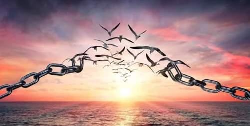 libérez vous de vos chaines, libérez vous de ces émotions qui vous perturbent sans être opportunes.