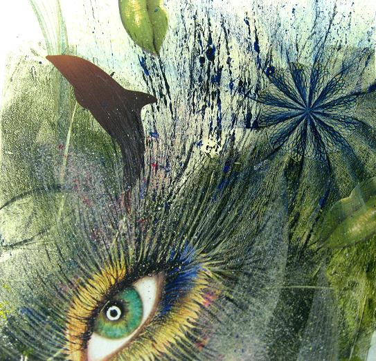 Deeper Vision by Rachel Bertoni Mixed Media