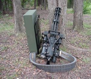 Jason Bourne, image of Agent Bertram's Mini Gun