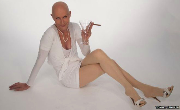 An image of Richard Obrien noted transvestite.