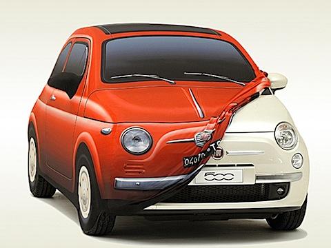 Bâche Fiat 500