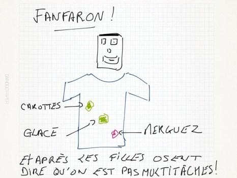 Fanfaron !