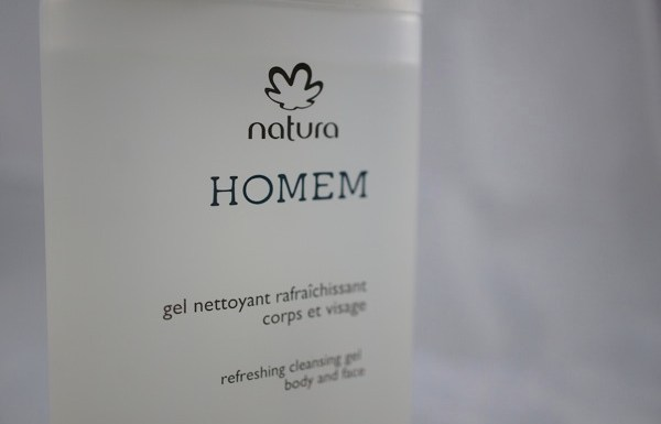 Test du gel douche rafraichissant Homem Natura Brasil