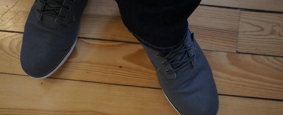 Nouvelles chaussures…