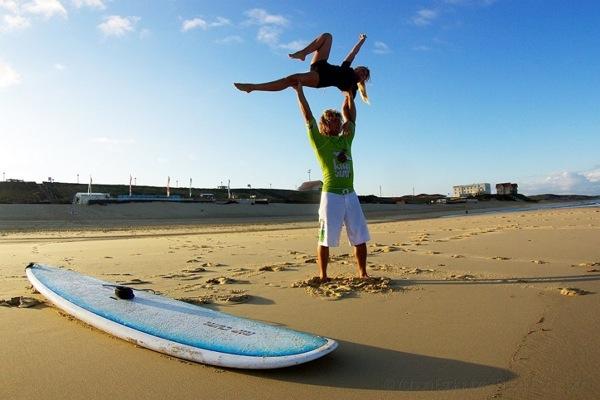 Clement surf