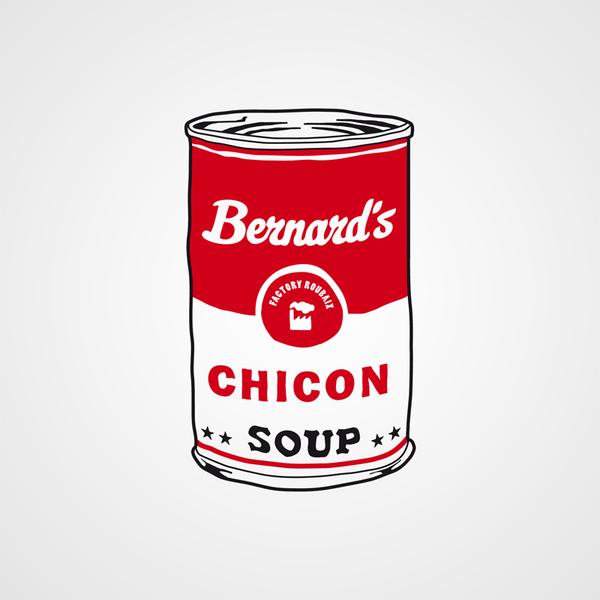Tattoo bernard s soup can visuel bernard forever grande