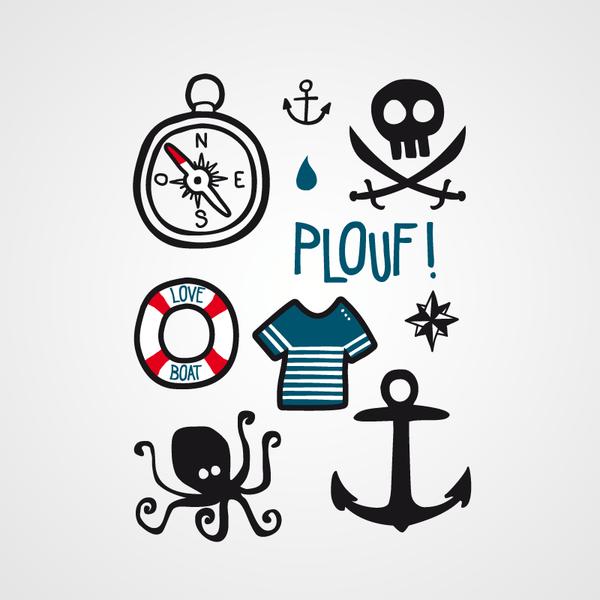 Tattoo playboy des fonds marins visuel bernard forever grande