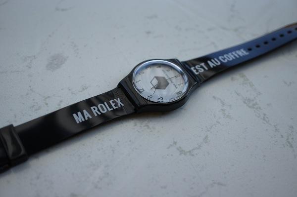 Dandybox juillet - Ma Rolex est au coffre