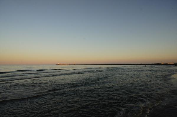 Gruissan mer coucher soleil