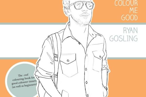 Cahiers de coloriage pour grands avec Kate Moss et Ryan Gosling