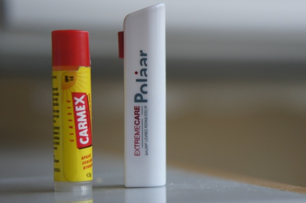 Baume lèvres carmex vs polaar