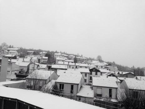 25 février : un peu de neige encore
