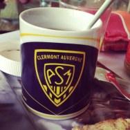 Vendredi 5 avril : petit déjeuner avec ma tasse ASM