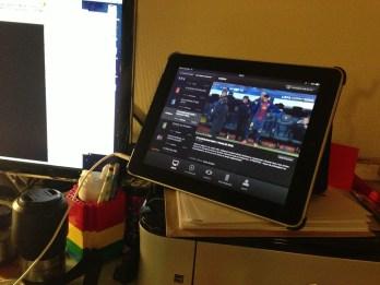Mercredi 10 avril : l'iPad est aussi une télé