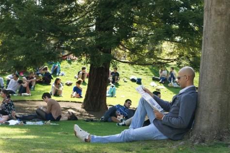 Mercredi 17 avril : au parc sous le soleil