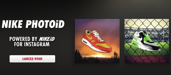 Avec Nike PHOTOiD vos baskets prennent les couleurs de vos photos Instagram