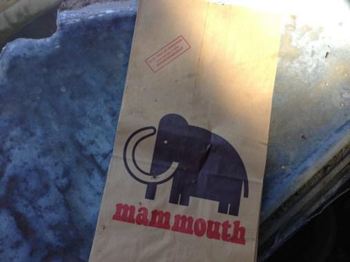 Samedi 6 juillet : Un sac papier qui me rappelle les supermarchés de mon enfance